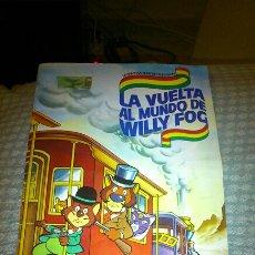Coleccionismo Álbum: ÁLBUM LA VUELTA AL MUNDO DE WILLI FOG ( COMPLETO). Lote 180195960