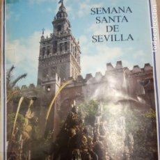 Coleccionismo Álbum: ALBUM SEMANA SANTA EN SEVILLA - COMPLETO. Lote 180197153