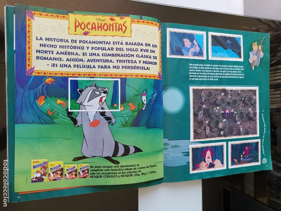 Coleccionismo Álbum: ÁLBUM CROMOS DISNEY POCAHONTAS ED. PANINI - Foto 12 - 180231178