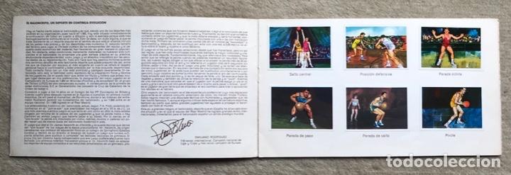 Coleccionismo Álbum: Álbum el deporte visto por sus ases N° 3 - baloncesto - Chocosport - Nestlé - Chocolate - Año 1967 - Foto 2 - 180250250