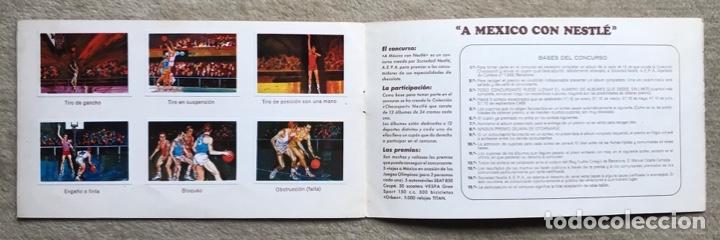 Coleccionismo Álbum: Álbum el deporte visto por sus ases N° 3 - baloncesto - Chocosport - Nestlé - Chocolate - Año 1967 - Foto 4 - 180250250