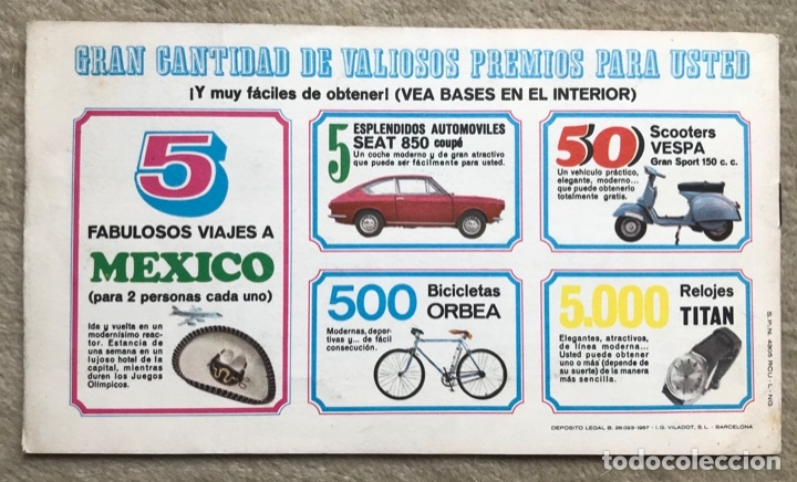 Coleccionismo Álbum: Álbum el deporte visto por sus ases N° 3 - baloncesto - Chocosport - Nestlé - Chocolate - Año 1967 - Foto 5 - 180250250