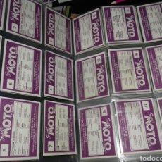 Coleccionismo Álbum: COLECCIÓN COMPLETA 212 CROMOS SUPER MOTO MOTOR 16. Lote 180251656