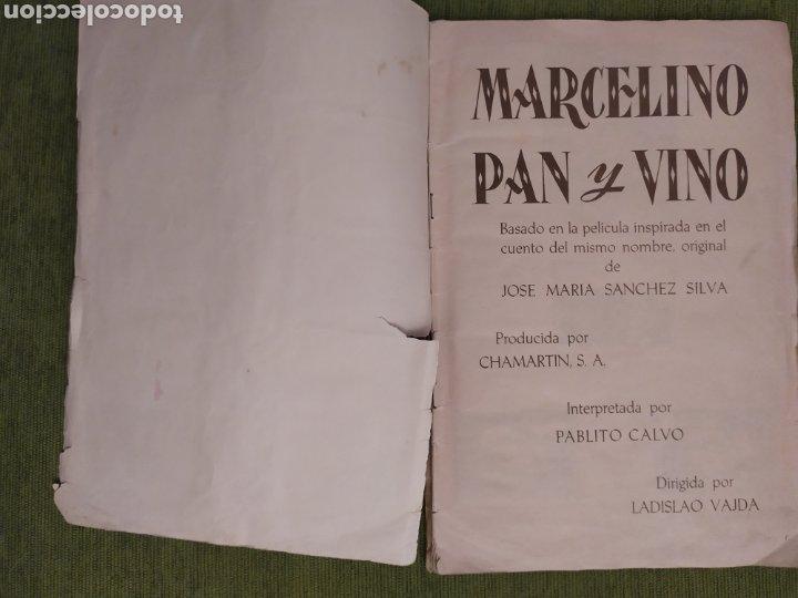 Coleccionismo Álbum: ÁLBUM DE LA PELÍCULA MARCELINO PAN Y VINO. EDITORIAL FHER. COMPLETO 240 CROMOS - Foto 6 - 181073477