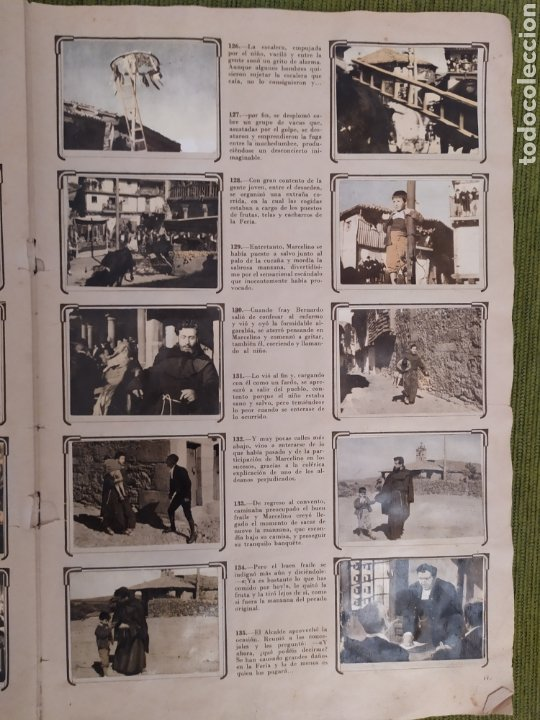 Coleccionismo Álbum: ÁLBUM DE LA PELÍCULA MARCELINO PAN Y VINO. EDITORIAL FHER. COMPLETO 240 CROMOS - Foto 33 - 181073477