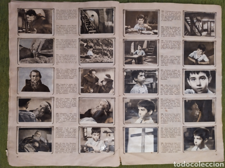 Coleccionismo Álbum: ÁLBUM DE LA PELÍCULA MARCELINO PAN Y VINO. EDITORIAL FHER. COMPLETO 240 CROMOS - Foto 46 - 181073477