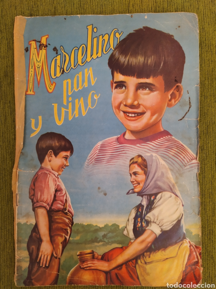ÁLBUM DE LA PELÍCULA MARCELINO PAN Y VINO. EDITORIAL FHER. COMPLETO 240 CROMOS (Coleccionismo - Cromos y Álbumes - Álbumes Completos)