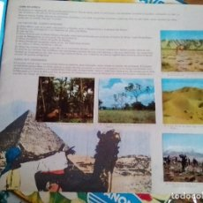 Coleccionismo Álbum: AFRICA - EL MUNDO A TRAVÉS DE SUS CONTINENTES - LECHE RAM ÁLBUM COMPLETO Y EN MUY BUEN ESTADO. Lote 181130983