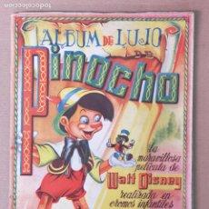 Coleccionismo Álbum: PINOCHO ALBUM DE LUJO EDT. FHER. Lote 181139566