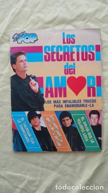 SUPER POP LOS SECRETOS DEL AMOR (Coleccionismo - Cromos y Álbumes - Álbumes Completos)