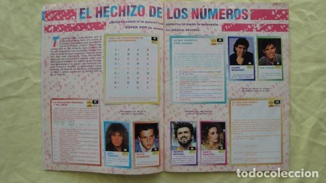 Coleccionismo Álbum: SUPER POP LOS SECRETOS DEL AMOR - Foto 2 - 181193496