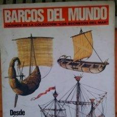 Coleccionismo Álbum: BARCOS DEL MUNDO. Lote 181406418