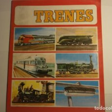 Coleccionismo Álbum: ALBUM DE CROMOS DE TRENES-COMPLETO. Lote 181419547