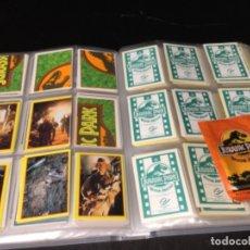 Coleccionismo Álbum: JURASSIC PARK COLECCIÓN COMPLETA SIN PEGAR 240 CROMOS AÑOS 90-LOTE 21. Lote 194645002