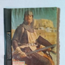 Coleccionismo Álbum: ÁLBUM EL CID DE CHARLTON HESTON Y SOFIA LOREN COMPLETO. Lote 181485000