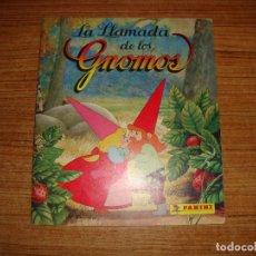 Coleccionismo Álbum: (ALB-TC-30) ALBUM COMPLETO LA LLAMADA DE LOS GNOMOS DE PANINI. Lote 181536725