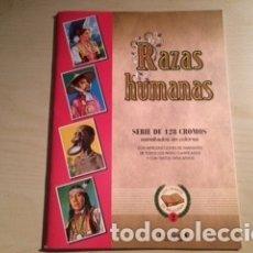 Collezionismo Álbum: RAZAS HUMANAS. Lote 181610188