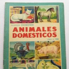 Coleccionismo Álbum: ANIMALES DOMESTICOS CROMOS LIBRO N° 108 COLECCION CROMOFHER ALBUM COMPLETO. Lote 181648857