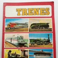 Coleccionismo Álbum: TRENES COLECCION ALBUM DE CROMOS COMPLETO SUSAETA EDICIONES S.A.. Lote 181649436