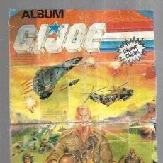 Coleccionismo Álbum: ALBUM COMPLETO. GIJOE. 1991. VER FOTOS. Lote 181721430