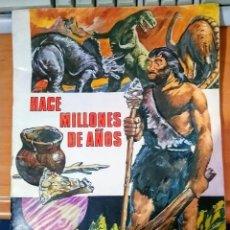 Coleccionismo Álbum: HACE MILLONES DE AÑOS. Lote 181755707
