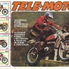 Coleccionismo Álbum: TELE MOTOR - COMPLETO. Lote 181771063