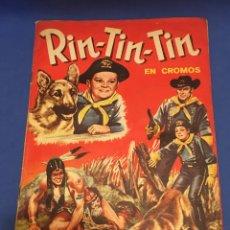 Coleccionismo Álbum: ÁLBUM CROMOS RIN TIN TIN. COMPLETO. 1962. Lote 182266541