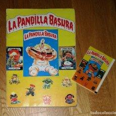 Coleccionismo Álbum: ALBUM DE CROMOS LA PANDILLA BASURA ED J MERCHANTE COMPLETO + SOBRE VACIO. Lote 182360341