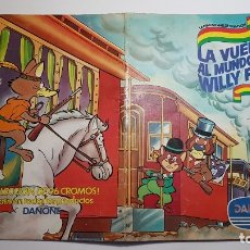 Coleccionismo Álbum: DANONE - LA VUELTA AL MUNDO DE WILLY FOG - ALBUM COMPLETO. Lote 182485265