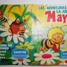 Coleccionismo Álbum: DANONE - LAS AVENTURAS DE LA ABEJA MAYA - ALBUM COMPLETO. Lote 182485863