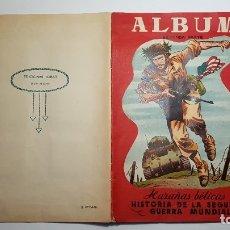 Coleccionismo Álbum: TORAY - ÁLBUM HAZAÑAS BÉLICAS, HISTORIA DE LA SEGUNDA GUERRA MUNDIAL 2 - ÁLBUM COMPLETO - PLANCHA. Lote 182487373