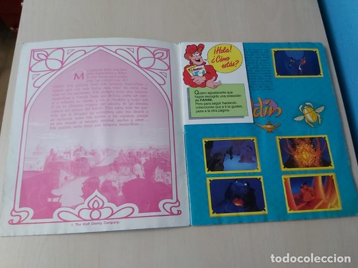 Coleccionismo Álbum: ALBUM ALADDIN DISNEY - PANINI - COMPLETO - - Foto 2 - 182590900