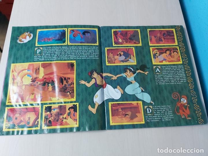 Coleccionismo Álbum: ALBUM ALADDIN DISNEY - PANINI - COMPLETO - - Foto 5 - 182590900