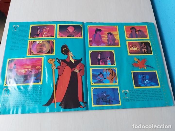 Coleccionismo Álbum: ALBUM ALADDIN DISNEY - PANINI - COMPLETO - - Foto 6 - 182590900