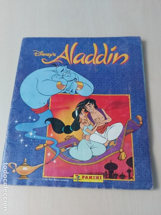 ALBUM ALADDIN DISNEY - PANINI - COMPLETO - (Coleccionismo - Cromos y Álbumes - Álbumes Completos)