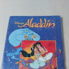 Coleccionismo Álbum: ALBUM ALADDIN DISNEY - PANINI - COMPLETO - . Lote 182590900
