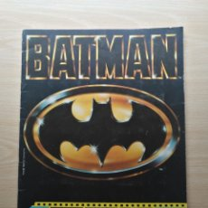 Coleccionismo Álbum: ALBUM CROMOS BATMAN COMPLETO 162 CROMOS. ASTON 1989. Lote 182704817