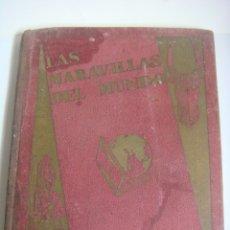 Coleccionismo Álbum: ALBUN DE CROMOS LAAS MARAVILLAS DEL MUNDO EDITADO POR NESTLE COMPLETO. Lote 182787270