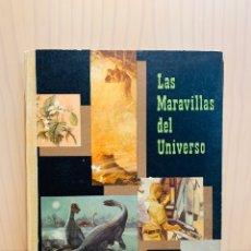 Coleccionismo Álbum: LAS MARAVILLAS DEL UNIVERSO II VOLUMEN LIBRO ALBUM DE CROMOS COMPLETO NESTLE 1957. Lote 182870153
