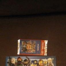 Coleccionismo Álbum: COLECCIÓN COMPLETA CROMO CARTAS DE LEGO TOYSRAS CON ALBUM Y SOBRE. Lote 182908568