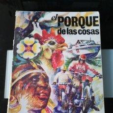 Coleccionismo Álbum: ÁLBUM CROMOS PANRICO BIMBO EL PORQUÉ DE LAS COSAS 1 TAPA DURA. Lote 182917635