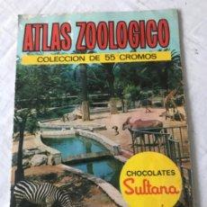 Coleccionismo Álbum: ALBUM DE CROMOS COMPLETO. ATLAS ZOOLOGICO. CHOCOLATES SULTANA. Lote 183179678
