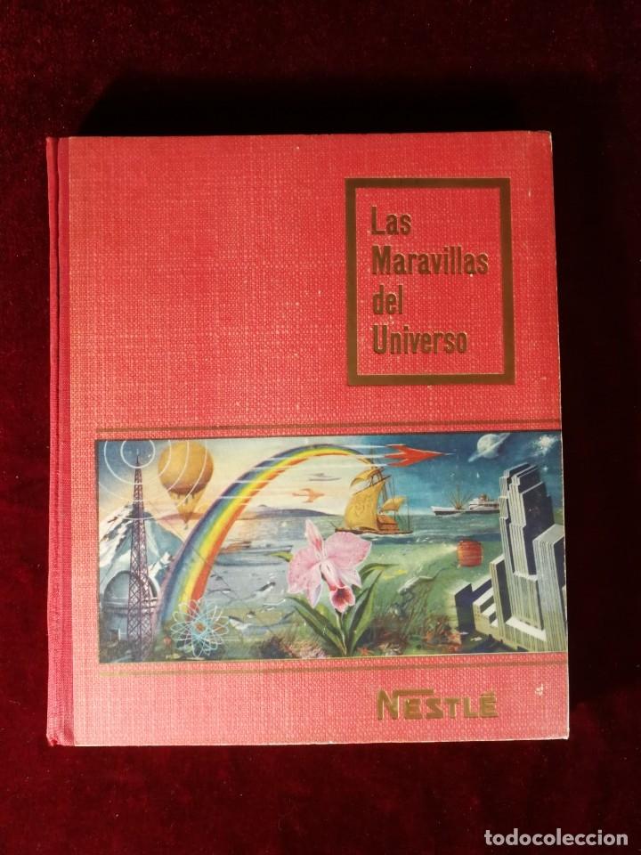 ALBUM CROMOS COMPLETO - NESTLÉ LAS MARAVILLAS DEL UNIVERSO 1955 (Coleccionismo - Cromos y Álbumes - Álbumes Completos)