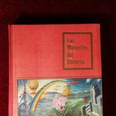 Coleccionismo Álbum: ALBUM CROMOS COMPLETO - NESTLÉ LAS MARAVILLAS DEL UNIVERSO 1955. Lote 183250290