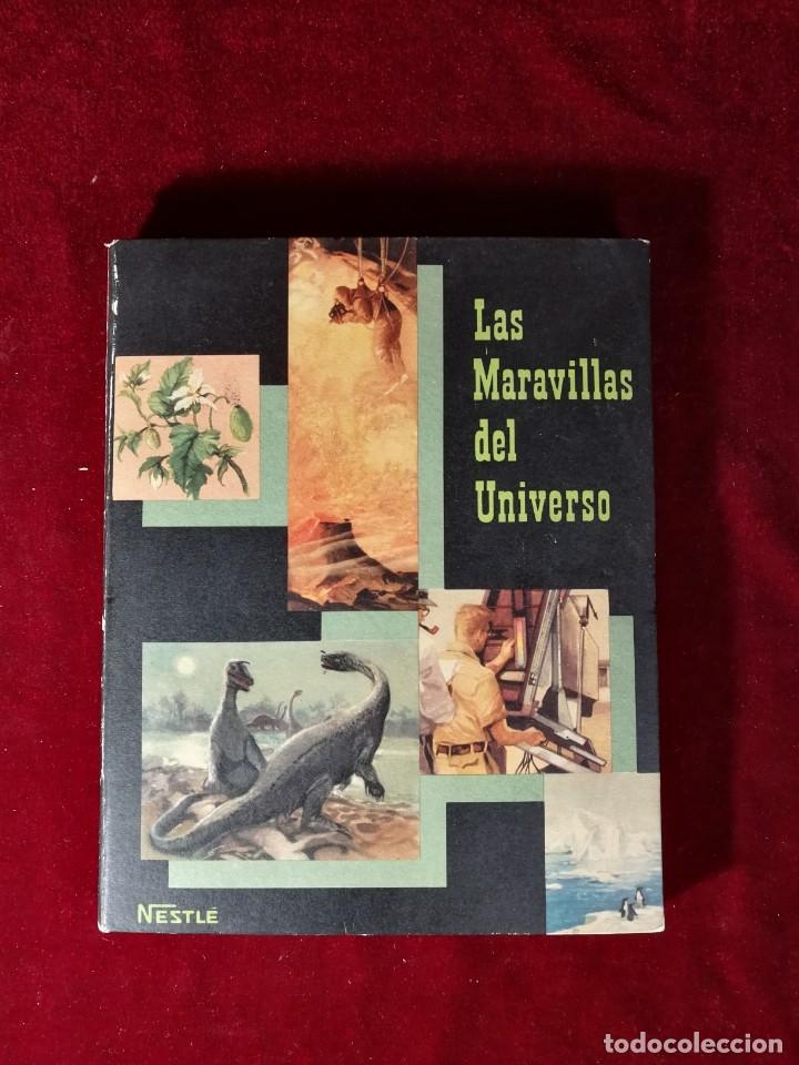 ALBUM CROMOS COMPLETO - NESTLÉ LAS MARAVILLAS DEL UNIVERSO VOLUMEN II 1957 (Coleccionismo - Cromos y Álbumes - Álbumes Completos)