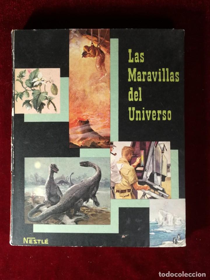 ALBUM CROMOS COMPLETO - NESTLÉ LAS MARAVILLAS DEL UNIVERSO VOLUMEN II 1957 (FALTAN 79 CROMOS) (Coleccionismo - Cromos y Álbumes - Álbumes Completos)