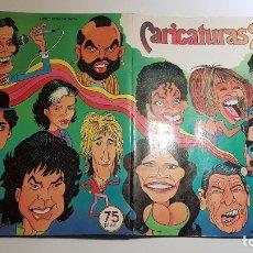 Coleccionismo Álbum: ROS - CARICATURAS 22 - ÁLBUM COMPLETO. Lote 126956023