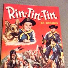 Coleccionismo Álbum: ALBUM CROMOS RIN TIN TIN. COMPLETO. FHER, 1962.. Lote 183334370