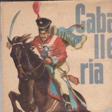 Coleccionismo Álbum: ALBUM COMPLETO CABALLERIA EDITORIAL RUIZ ROMERO. Lote 183414108