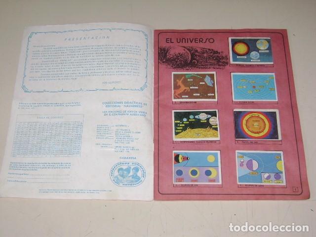 Coleccionismo Álbum: Album Ciencias - Editorial Navarrete 1985 - 100% Completo - Foto 2 - 60626343